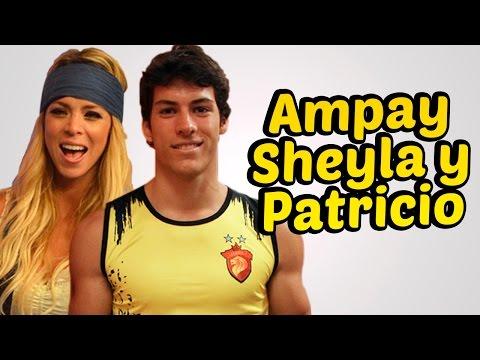 Amor Amor Amor: AMPAY SHEYLA ROJAS Y PATRICIO PARODI BESANDOSE 25/08/14