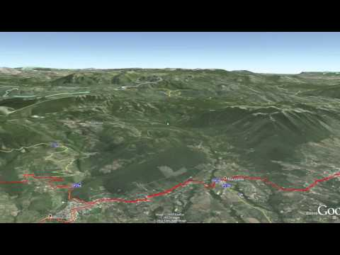 MTB- Montorio Romano Goocle Earth