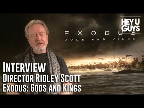 Director Ridley Scott Interview - Exodus: Gods and Kings