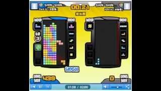 560 lines tetris battle