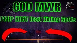 PROP HUNT MWR Best Hiding Spots on All Maps!