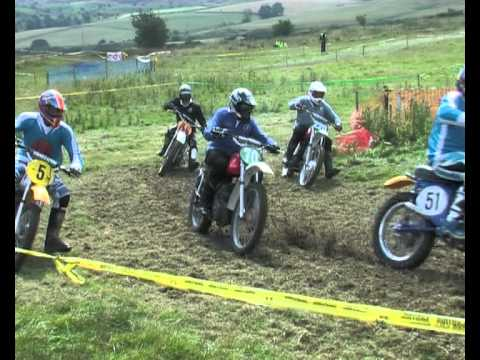 Over 60's and Over 50's Race 1 Scottish Classic Scramble Club Kirkness 2012.
