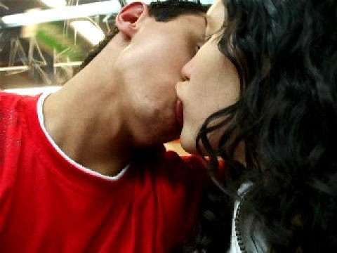 beijo molhado