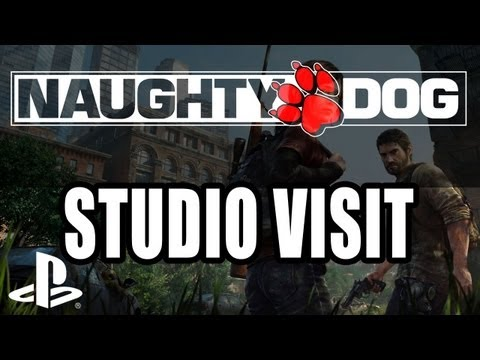 Naughty Dog Studio Visit - The Last of Us! Nolan North!