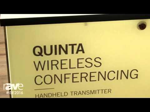 ISE 2016: beyerdynamic Showcases Quinta TH Handheld Transmitter