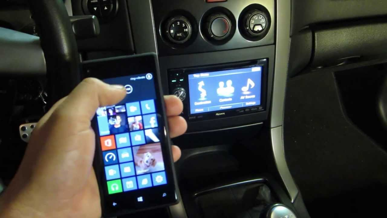 Wireless Phone Charger Bluetooth Music In Car Youtube