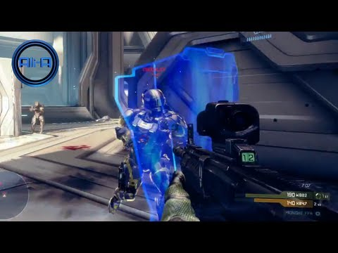 HALO 4 Multiplayer Gameplay - New Spartan Ops & Campaign Footage! (E3 2012 HD)