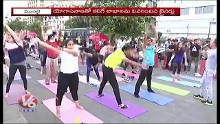 Mumbaikars and#39;Yoga By The Bayand#39; At Marine Drive | Fitness And Health