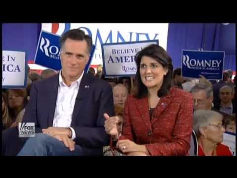 On The Record: Nikki Haley Endorses Mitt Romney 12/16/11