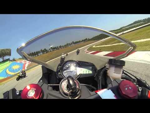 zx636@Sepang + R6 Crash