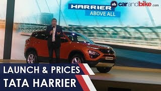 Tata Harrier Launch and Prices | NDTV carandbike