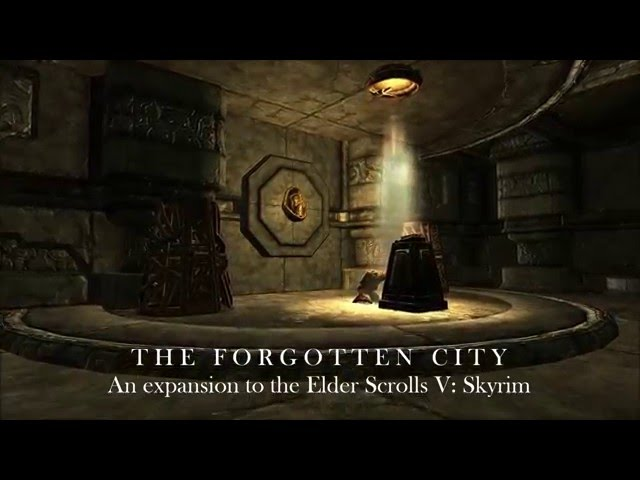 TES V: Skyrim. The Forgotten City