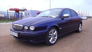 2007 Jaguar X-Type. Start Up, Engine, and In Depth Tour.