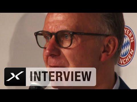 Karl-Heinz Rummenigge vergleicht Manuel Neuer mit Oliver Kahn   FC Bayern München