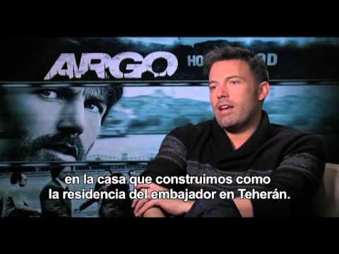 ARGO - Entrevista BEN AFFLECK