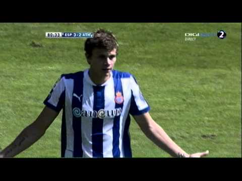 Gol de  Longo Espanyol 3 - 3 Athletic Bilbao (EPIC AND RED CARD)