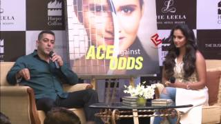 Watch Salman Khan and Sania Mirza's Funny Interview at her book Launch ceremony...