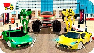 Car Racing Games - Robo Transporter Monster Truck - Gameplay Android free games