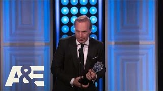 Bob Odenkirk Wins Best Actor in a Drama Series - 2015 Critics' Choice TV Awards | A&E