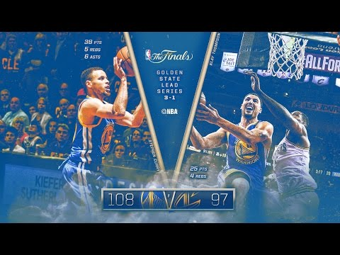 Warriors vs Cavaliers: Game 4 NBA Finals - 06.10.16 Full Highlights