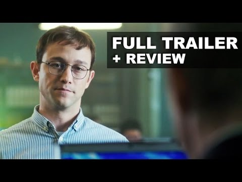 Snowden Trailer 2016 Review