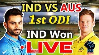 IND vs AUS, MS Dhoni, Hardik Pandya Power India To 26-Run Win Over Australia,Live Cricket Highlights