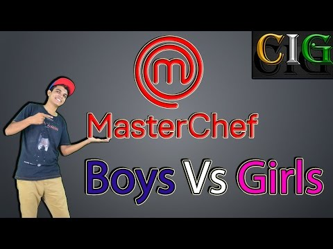 Boys Vs Girls: How Mom Reacts When We Cook??? :CIG