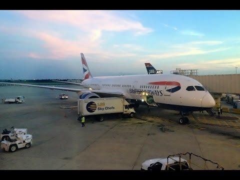 British Airways | 787 Dreamliner | LHR-PHL | World Traveller Plus