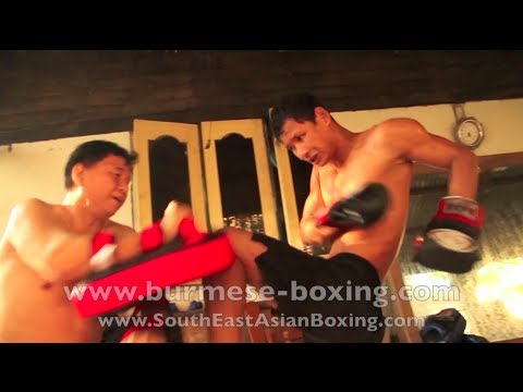 Lethwei Burmese Boxing [HD] - Lone Chaw Morning Training - Win Zin Oo's Gym - Yangon Myanmar 2011 Image 1