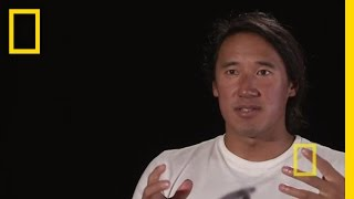 Jimmy Chin: Trapped in an Avalanche | Nat Geo Live