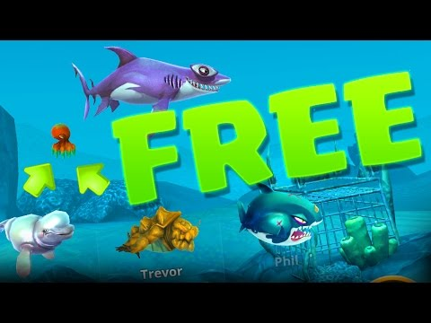 FREE PET :: Hungry Shark :: 424,000 HIGH SCORE!!