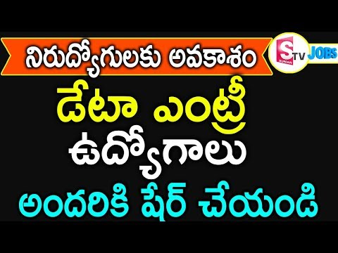 Data Entry Jobs In Hyderabad   Data entry Jobs At Home   Work From Home Jobs  Hyderabad Jobs SumanTv