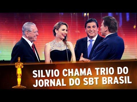 Silvio chama trio do jornal do SBT Brasil