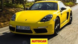 2019 Porsche 718 Cayman T driven | Is this the best value Cayman? | Autocar