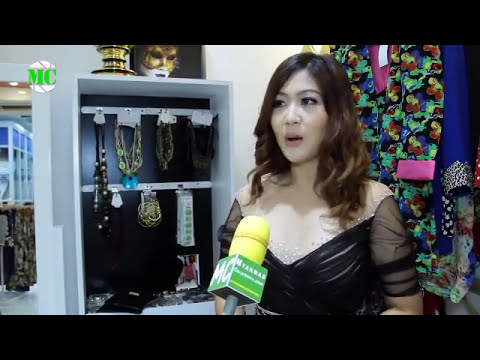 CELEBRITIES  MARI GOLD FASHION SHOP OPENING
