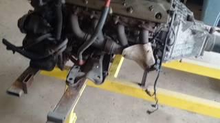 Porsche 928 Powertrain take-apart assessment