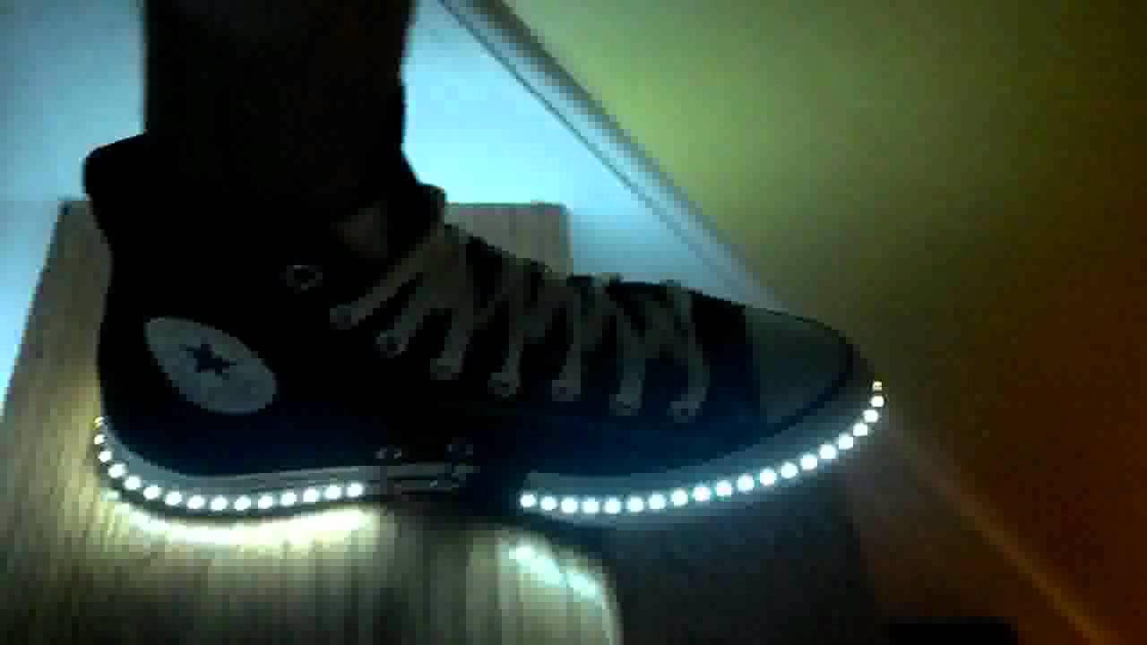 how to make 12v lights blink with music