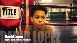 Dynamite David Lopez - The Future of Boxing