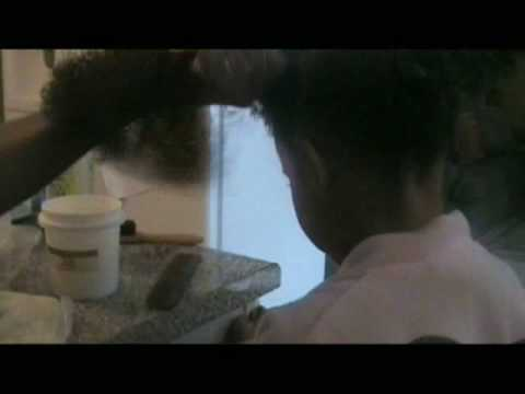 coconut cream natural relaxer - part 2