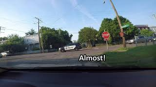 Richmond Police Run Stop Sign Compilation 🚓 OAP