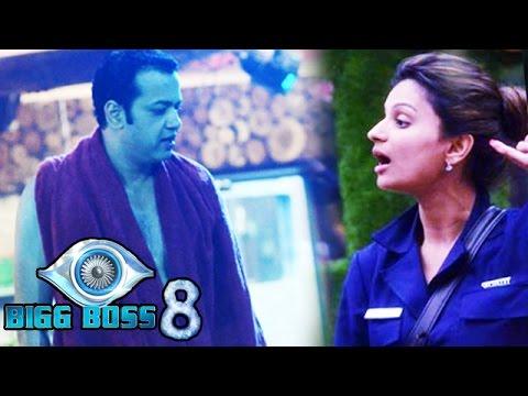 War Of Splits In Big Boss 8 | Dimpy Ganguly V/s Rahul Mahajan