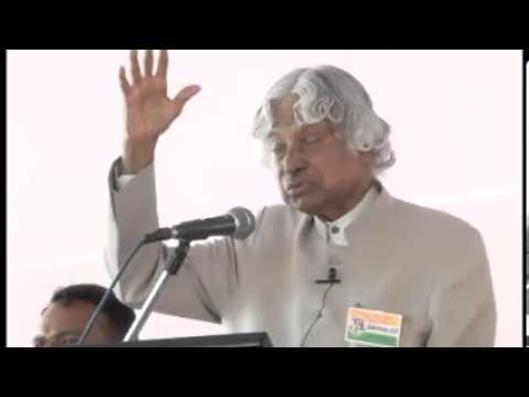 Lead India 2020 -  APJ Abdul Kalam Speaks at Lead India 2020 Bharat Ratnas School Launch - Part -1