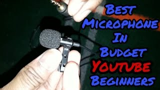 Best Clip Microphone In Low Budget For Youtube Beginner | Review | Unboxing