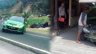 Videonya Nge-drift di Tawangmangu Viral, Pengemudi Mazda 2 Hijau Diringkus Polisi