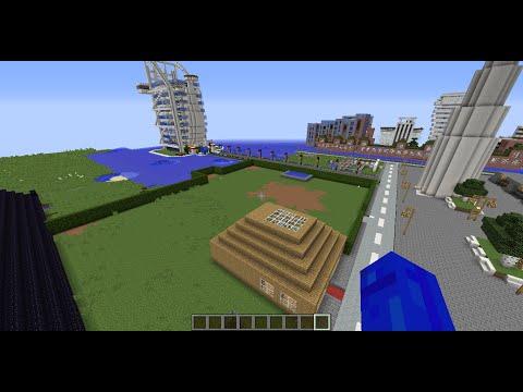 Minecraft Lets show Burj al Arab