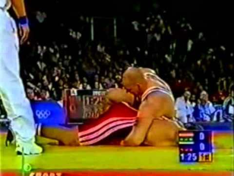 130 кг. А. Карелин - М. Дик-Бардош (Сидней 2000)