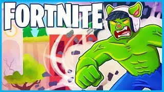 *NEW* HILARIOUS HULK GLITCH in Fortnite: Battle Royale! (Fortnite Funny Moments & Fails)