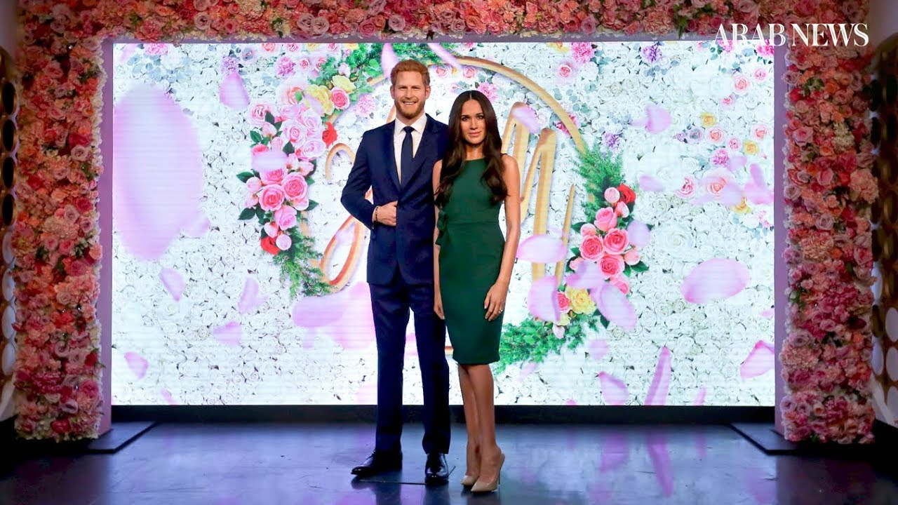 New Harry & Meghan waxworks unveiled at Madame Tussauds