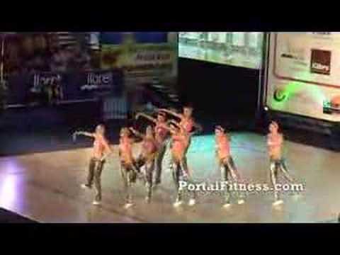 Campeonato Europeo de Aerobic Final: Coreografía República C