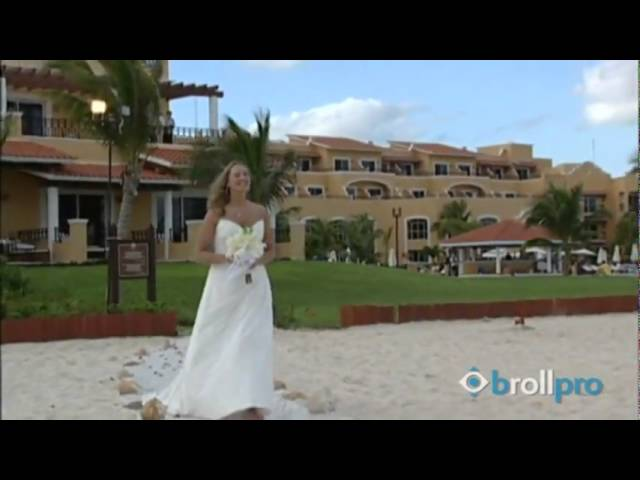 Secrets Capri Riviera Cancun, Mexico - Wedding B-roll Travel Video Footage